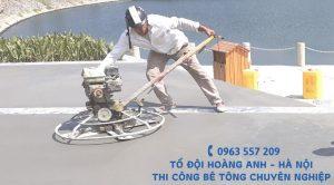 Dịch vụ trộn bê tông thủ công